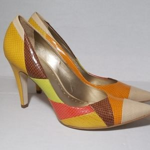 BCB Girls Multi Color High Heel shoes size 9